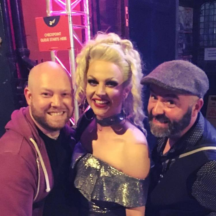 Barry & Joe with Courtney